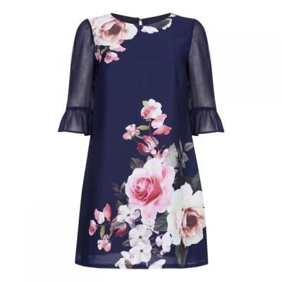 ユミ Yumi レディース ワンピース ワンピース・ドレス Rose Garden Dress Navy