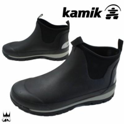 送料無料 カミック Kamik メンズ レインブーツ ショート サイドゴア 1600442 LARSLO レインシューズ ショートブーツ サイドゴアブーツ