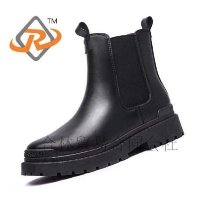 女性靴、秋冬スタイルハイパーマルティン靴、バイク用靴  23cm