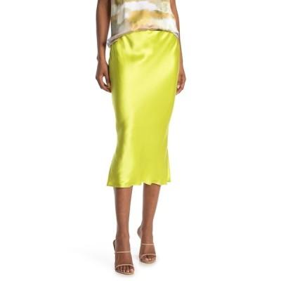 カミニューヨークシティ レディース スカート ボトムス The Jessica Emerald Leopard Silk Bias Midi Skirt ACID