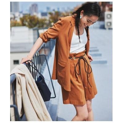 ViS / 【セットアップ対応】麻混テーラードジャケット WOMEN ジャケット/アウター > テーラードジャケット