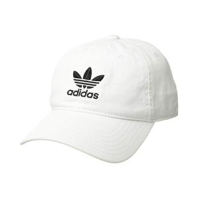 アディダス オリジナルス Originals Relaxed Strapback Hat メンズ 帽子 White/Black