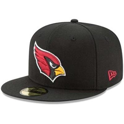 ニューエラ メンズ 帽子 アクセサリー Arizona Cardinals New Era Omaha 59FIFTY Fitted Hat Black