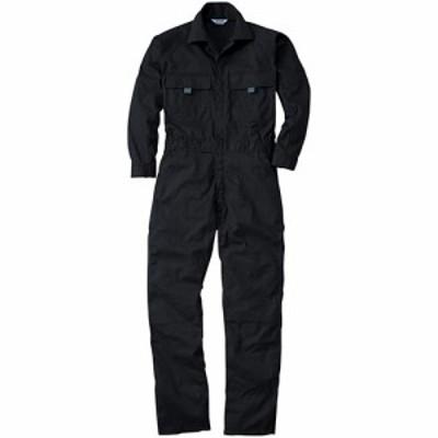 桑和(SOWA) 続服 4/ブラック S~LLサイズ 9800 【作業着 作業服 ワークウェア ウエア つなぎ メンズ レディース】