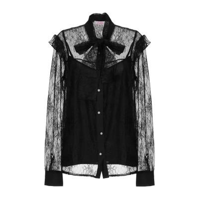 ブルーガール ブルマリン BLUGIRL BLUMARINE シャツ ブラック 38 ナイロン 100% シャツ