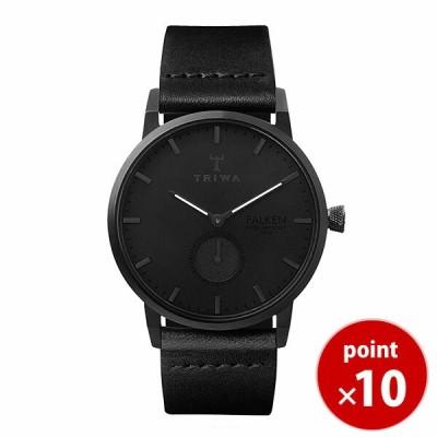 トリワ TRIWA メンズ レディース 腕時計 径38mm MIDNIGHT FALKEN BLACK CLASSIC FAST115-CL01010