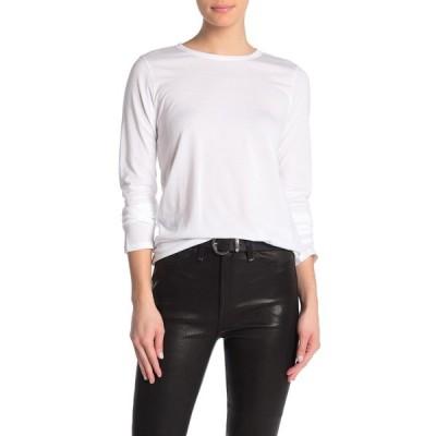 ラグアンドボーン レディース Tシャツ トップス Core Long Sleeve T-Shirt WHT