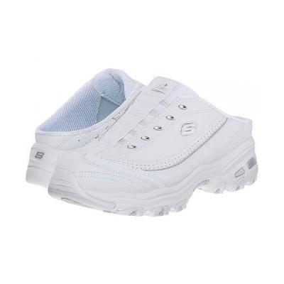 SKECHERS スケッチャーズ レディース 女性用 シューズ 靴 スニーカー 運動靴 D'Lites - Bright Sky - White