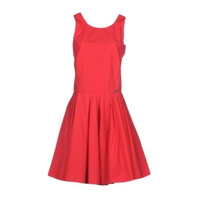 MARIAGRAZIA PANIZZI ミニワンピース&ドレス コーラル 44 100% コットン ミニワンピース&ドレス