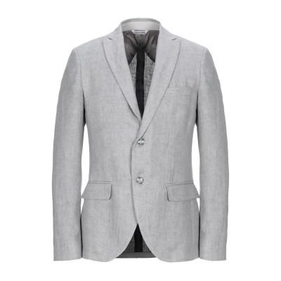 YOON テーラードジャケット ライトグレー 48 麻 100% テーラードジャケット