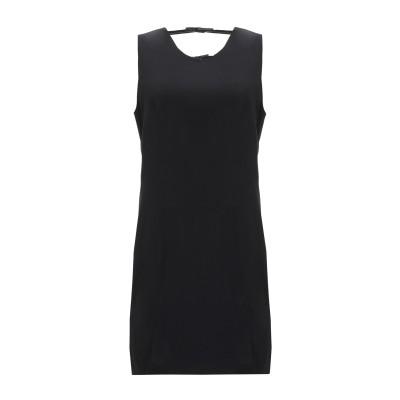 GRACE MMXIII ミニワンピース&ドレス ブラック 10 レーヨン 99% / ポリウレタン 1% ミニワンピース&ドレス
