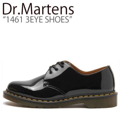 ドクターマーチン スニーカー Dr.Martens メンズ レディース 1461 3EYE SHOES 1461 3ホールシューズ BLACK ブラック 10084001 シューズ