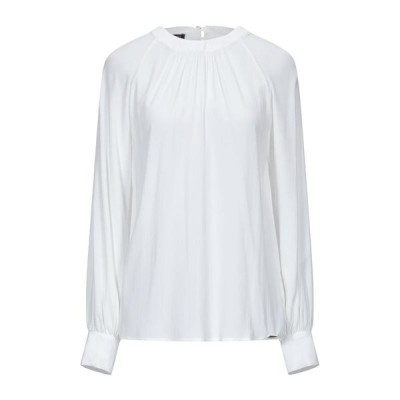 CRISTINAEFFE ブラウス  レディースファッション  トップス  シャツ、ブラウス  長袖 ホワイト