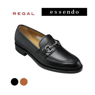 リーガル スリッポン ビット Uモカシン ラウンドトゥ RE13VR ブラウン ブラック REGAL メンズ靴