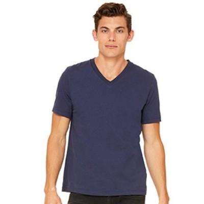 ユニセックス 衣類 トップス Unisex Jersey Short-Sleeve V-Neck T-Shirt Tシャツ