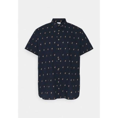 ジャック アンド ジョーンズ シャツ メンズ トップス JORPOOLSIDE SHIRT - Shirt - navy blazer