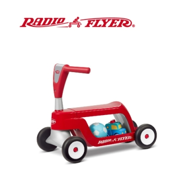 RadioFlyer 小浣熊二合一滑步滑板車#615型