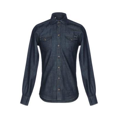 ドルチェ & ガッバーナ DOLCE & GABBANA デニムシャツ ブルー 37 コットン 100% デニムシャツ