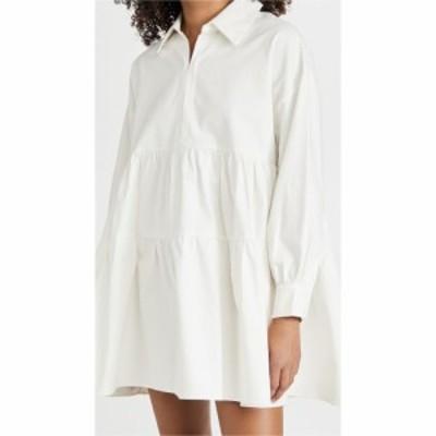 エン セゾン En Saison レディース ワンピース ミニ丈 ワンピース・ドレス Cotton Poplin Mini Dress Off White