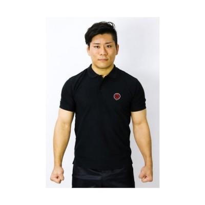 MAZA[マザ] ポロシャツ クラシック(黒)