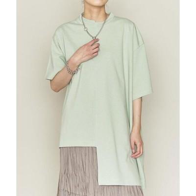 tシャツ Tシャツ <ASTRAET(アストラット)>アシンメトリー クルーネックTシャツ†