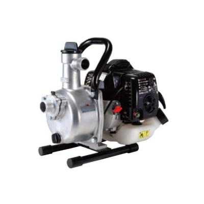 工進(KOSHIN) ハイデルスポンプ SEV-25L 2サイクル エンジン 口径 25mm 散水 洗浄 送水 タンク 用水