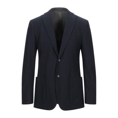 トネッロ TONELLO テーラードジャケット ダークブルー 50 ウール 100% テーラードジャケット