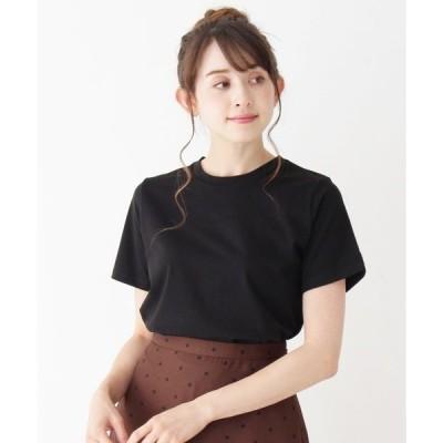 tシャツ Tシャツ コットンシンプルクルーネックTシャツ