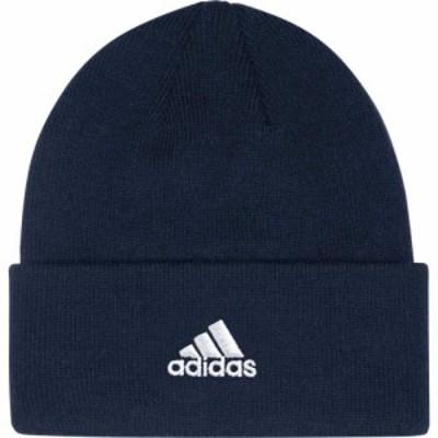 アディダス adidas メンズ ニット ビーニー 帽子 Team Cuffed Knit Beanie Collegiate Navy