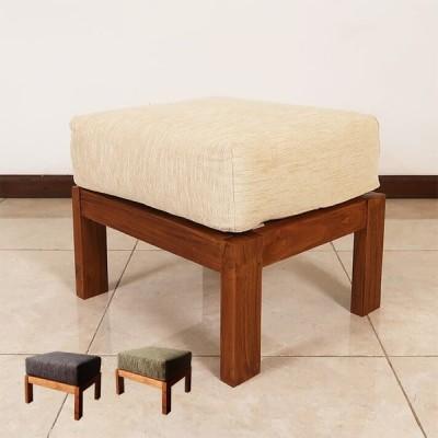 オットマン アジアン家具 チーク無垢材 おしゃれ 木製 バリ リゾート インテリア モダン 足置き オットマンチェア