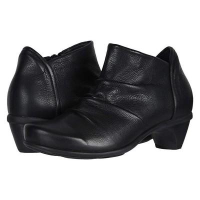 Naot Advance レディース ブーツ Soft Black Leather