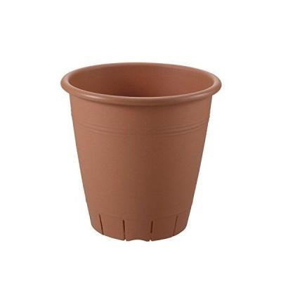 リッチェル ネバール 丸プランター 36型 ブラウン φ36.0 × 34.5(cm)