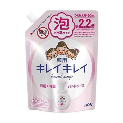 キレイキレイ 薬用 泡ハンドソープ シトラスフルーティの香り 詰め替え 450mL×2セット
