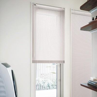 ブラインド スラット15 浴窓 コード&ロッド式 TOSO(トーソー) スラット幅15mm 幅28〜60cm×丈11〜30cm