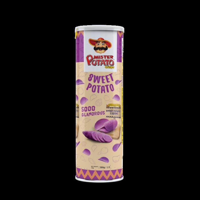 【雅客貿易】MISTER POTATO薯片先生 - 紫薯味 (130g)(6入)