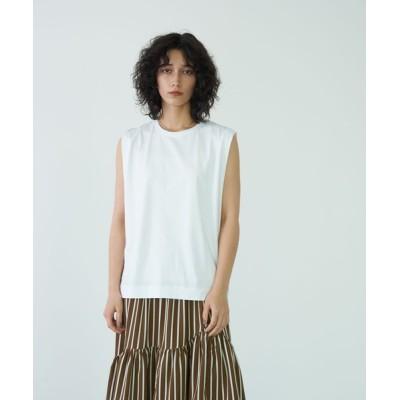 tシャツ Tシャツ オーガニックコットンノースリーブプルオーバー**