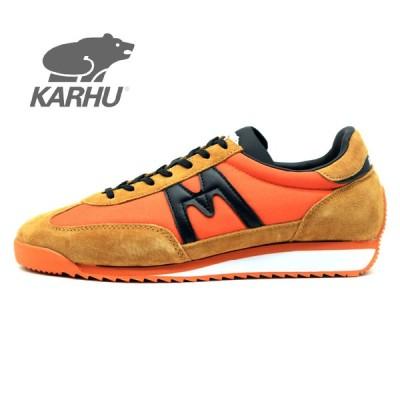 KARHU KH805001 CHAMPIONAIR JAFFA ORANGE - BLACK   /  カルフ スニーカー チャンピオンエア オレンジ