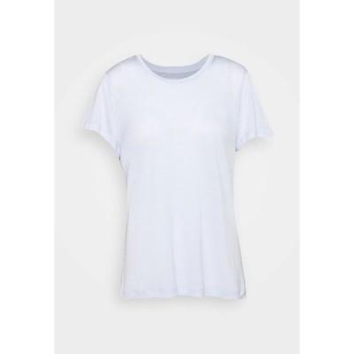 フーディニ Tシャツ レディース トップス TREE TEE - Basic T-shirt - light blue