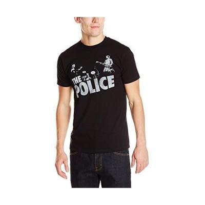 The Police メンズ Zanyatta Trio Band フォトグラフィックTシャツ US サイズ: XX-Large カラー: ブラック
