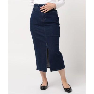 EDWIN / SOMETHING/サムシング ペンシルスカート WOMEN スカート > デニムスカート