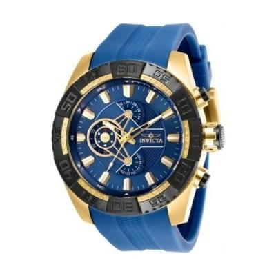 腕時計 インヴィクタ メンズ Invicta 25996 Men's Pro Diver Blue Dial Chronograph Strap Watch