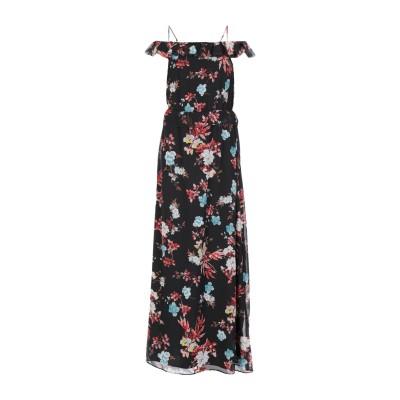 ピンコ PINKO ロングワンピース&ドレス ブラック 38 ポリエステル 100% ロングワンピース&ドレス