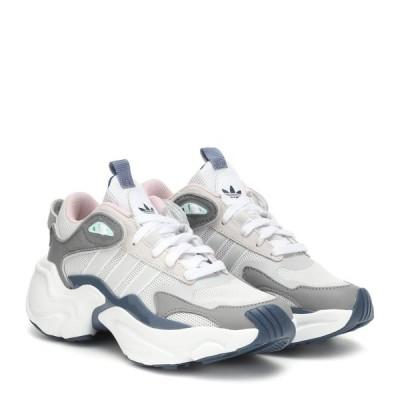 アディダス Adidas Originals レディース スニーカー シューズ・靴 Magmur Runner Mesh Sneakers Greone/Greone/Rawste