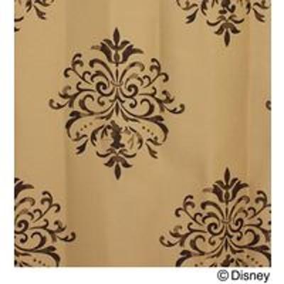 スミノエスミノエ DISNEY ディズニーホーム 遮光カーテン ミッキー クレスト M1015 1000×1350mm ライトブラウン 1枚(直送品)