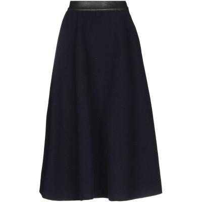 ロイ ロジャース ROŸ ROGER'S 7分丈スカート ダークブルー 29 ウール 100% 7分丈スカート