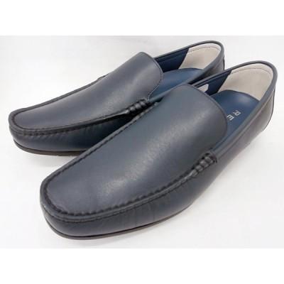 リーガル REGAL 靴 メンズ ヴァンプスリッポンカジュアル 56HR(ネイビー)
