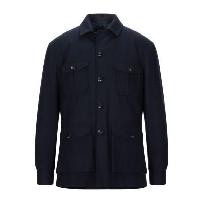 KITON テーラードジャケット ダークブルー 50 ウール 100% テーラードジャケット