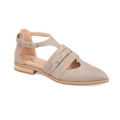 ジャーニーコレクション レディース サンダル シューズ Women's Jemy Flats Taupe
