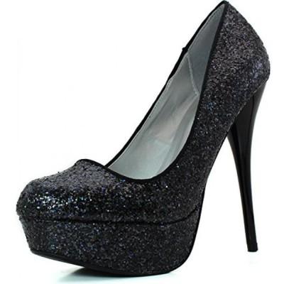 キューピッド レディース パンプス Women's Platform Party Dress Classic Sky High Heel Stiletto Pump Shoes