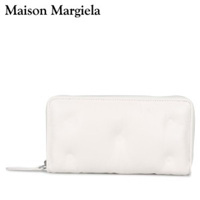 メゾンマルジェラ MAISON MARGIELA 財布 長財布 メンズ レディース ラウンドファスナー GLAM SLAM ホワイト 白 S56UI0110